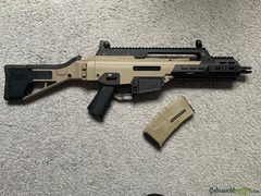 G36 - ICS G33 Compact Assault Rifle SFS Stock Two Tone Airsoft Frei ab 18 - S-AEG -F-